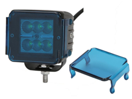 Led werklamp 16w met blauwe cover