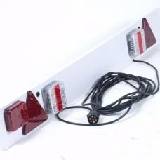 Verlichtingsbalk + mistlamp LED 9 meter kabel