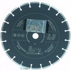 Zaagblad, diamant 300x7x2,5x25,4