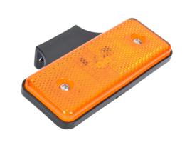 Led/reflector zijmarkering 12/24v oranje