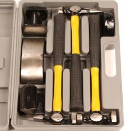 Uitdeukset 7 delig in koffer