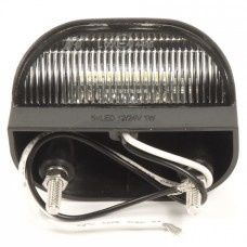 Kentekenverlichting 12-24v 5-leds