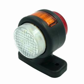 Set LED breedtelampen kort 24V