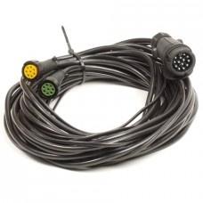 Achterlicht kabelset 6,3 meter Multipoint