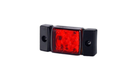 Markeringslamp 10-30V rood