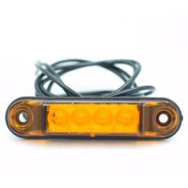 Markeringslamp oranje 10-30V