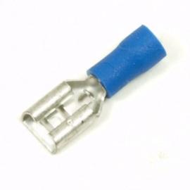 Vlakstekkerhuls 2.5 mm per 100 stuks