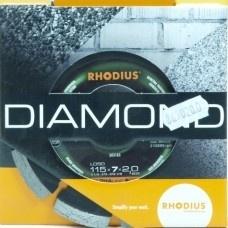 Zaagblad, diamant 115x7x2,0x22,23