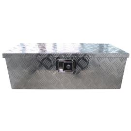 Aluminium disselbak afm: 75 cm x 35 cn x 25 cm afsluitbaar