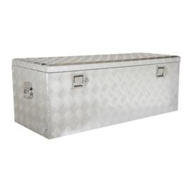 Aluminium kist afm: 1050x450x400 mm.