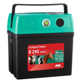 AKO Compact Power B 240 Multi batterijapparaat, 9V