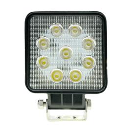 CRAWER Led werklamp 27 watt EMC + 2 meter kabel