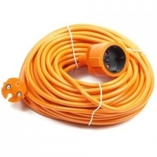 Verlengkabel 20 meter oranje