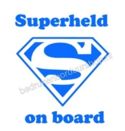 Superheld on board