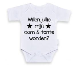 Willen jullie mijn oom & tante worden?