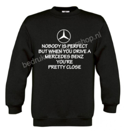 Nobody is perfect, but when you drive a mercedes benz..