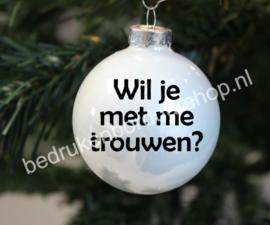 Wil je met me trouwen?