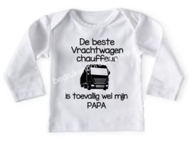 De beste vrachtwagen chauffeur, is papa..