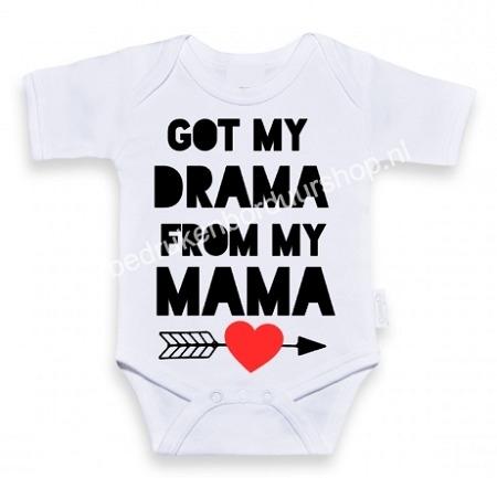 Got my drama, from my mama.