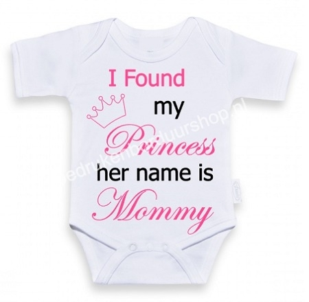 I found my princess, her name is Mommy.