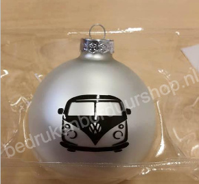 Kerstbal met VW bus