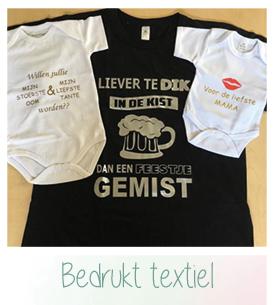 Bedrukt textiel