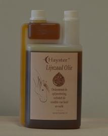 Lijnzaad olie 1 liter