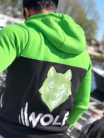 Wolf vest green/black