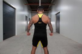 Tanktop Black/Yellow