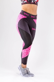 Legging Ligoni – Black/Pink