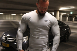 Orion Comperssion Long Sleeve   – Light/Darl Grey