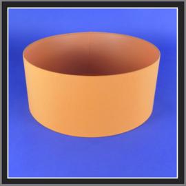 cilinder dia  450 mm.,  hoogte 200 mm. (of 150 mm.); stof klasse 2