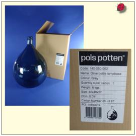 Glas lamp [ Pols potten ], zonder montage.
