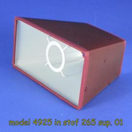lampenkap rechthoek model 4925 stof klasse 2.