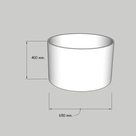 cilinder dia  650 mm. / 400 mm. stof klasse 1.