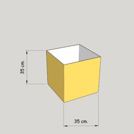 model 4735 hoog 35 of 30 cm.;  stof klasse 1