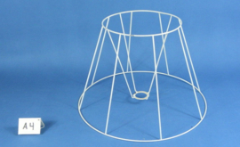 Frame 45 cm. voor een genaaide plooilampenkap
