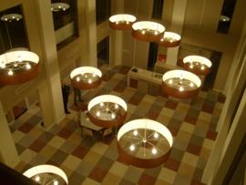 Cilinderhanglampkappen 1200 x 1200 400 m. , 12 stuks.