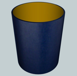 nr. 359 chintz donkerblauw op goud pvc