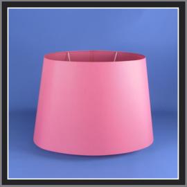 nr. 529 chintz pink op transparant pvc.