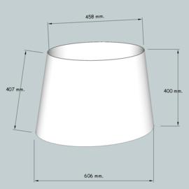lampenkap ovaal model 4160 stofklasse 2