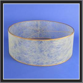 nr. 502 Metaal goud draad geplakt op glashelder pvc.( kl 2 ).
