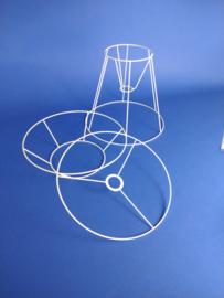 Frame  voor een woldraad wikkel lamp, model  B04 voor een tafel lamp