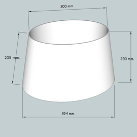 lampenkap ovaal model 4140 stofklasse 1
