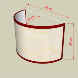 wandlampenkap model 4833 stof prijs klasse 1