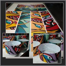 Printwerk voor een school in Brabant.