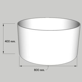 cilinder dia  800 mm. /  400 mm. stof klasse 1.