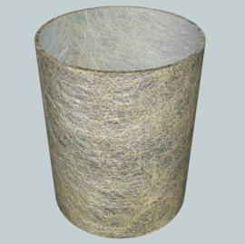 nr. 502 Metaal goud draad op glashelder pvc