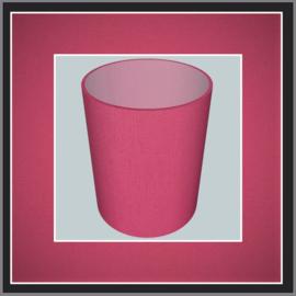 nr. 400 Cotton pink, geplakt op mat transparant pvc.