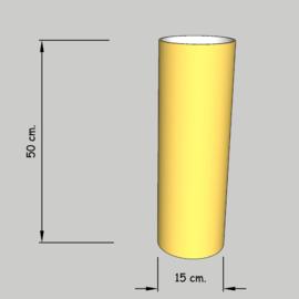 cilinder dia 15 cm. hoog 40 cm. of 35 cm. in  stof klasse 2.